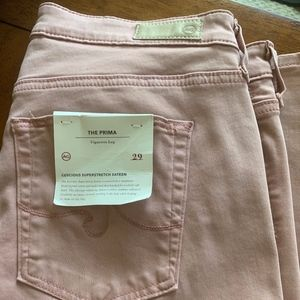 Brand new, never worn, Sateen AG Prima Jeans.